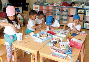 美浜幼稚園のアトリエ