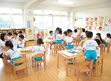 美浜幼稚園の保育室